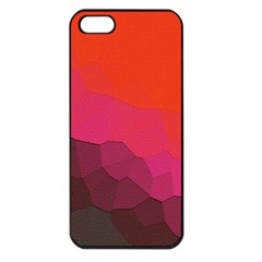 Abstract Elegant Background Pattern Apple iPhone 5 Seamless Case (Black)