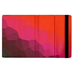 Abstract Elegant Background Pattern Apple iPad 2 Flip Case