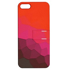 Abstract Elegant Background Pattern Apple iPhone 5 Hardshell Case with Stand