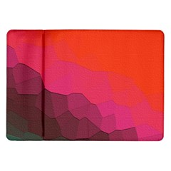 Abstract Elegant Background Pattern Samsung Galaxy Tab 10.1  P7500 Flip Case