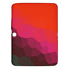 Abstract Elegant Background Pattern Samsung Galaxy Tab 3 (10.1 ) P5200 Hardshell Case