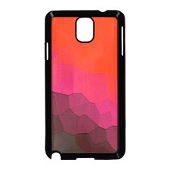 Abstract Elegant Background Pattern Samsung Galaxy Note 3 Neo Hardshell Case (Black)