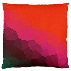 Abstract Elegant Background Pattern Large Flano Cushion Case (one Side)