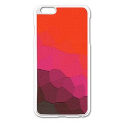 Abstract Elegant Background Pattern Apple Iphone 6 Plus/6s Plus Enamel White Case