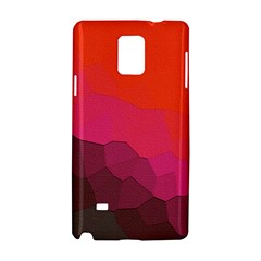 Abstract Elegant Background Pattern Samsung Galaxy Note 4 Hardshell Case