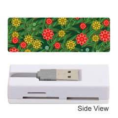 Completely Seamless Tile With Flower Memory Card Reader (stick)