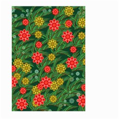 Completely Seamless Tile With Flower Large Garden Flag (Two Sides)