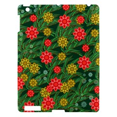 Completely Seamless Tile With Flower Apple iPad 3/4 Hardshell Case