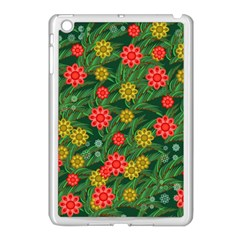 Completely Seamless Tile With Flower Apple Ipad Mini Case (white)