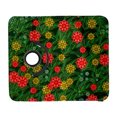 Completely Seamless Tile With Flower Galaxy S3 (Flip/Folio)