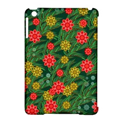 Completely Seamless Tile With Flower Apple Ipad Mini Hardshell Case (compatible With Smart Cover)