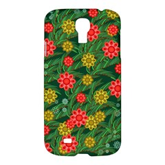 Completely Seamless Tile With Flower Samsung Galaxy S4 I9500/I9505 Hardshell Case