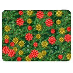 Completely Seamless Tile With Flower Samsung Galaxy Tab 7  P1000 Flip Case