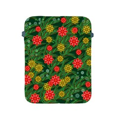 Completely Seamless Tile With Flower Apple Ipad 2/3/4 Protective Soft Cases