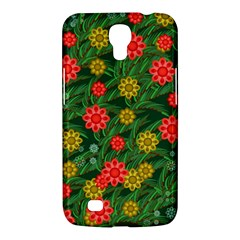 Completely Seamless Tile With Flower Samsung Galaxy Mega 6.3  I9200 Hardshell Case