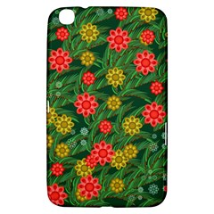 Completely Seamless Tile With Flower Samsung Galaxy Tab 3 (8 ) T3100 Hardshell Case
