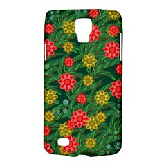 Completely Seamless Tile With Flower Galaxy S4 Active