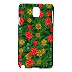 Completely Seamless Tile With Flower Samsung Galaxy Note 3 N9005 Hardshell Case