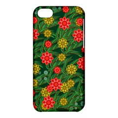 Completely Seamless Tile With Flower Apple iPhone 5C Hardshell Case