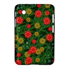 Completely Seamless Tile With Flower Samsung Galaxy Tab 2 (7 ) P3100 Hardshell Case