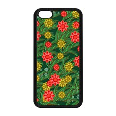 Completely Seamless Tile With Flower Apple Iphone 5c Seamless Case (black)