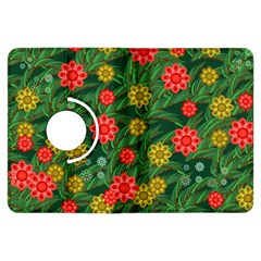 Completely Seamless Tile With Flower Kindle Fire Hdx Flip 360 Case