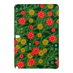 Completely Seamless Tile With Flower Samsung Galaxy Tab Pro 10.1 Hardshell Case