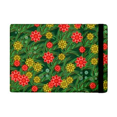 Completely Seamless Tile With Flower iPad Mini 2 Flip Cases