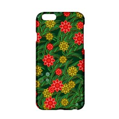 Completely Seamless Tile With Flower Apple iPhone 6/6S Hardshell Case