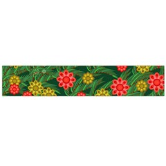 Completely Seamless Tile With Flower Flano Scarf (large)