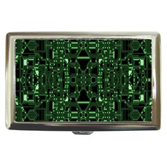 An Overly Large Geometric Representation Of A Circuit Board Cigarette Money Cases