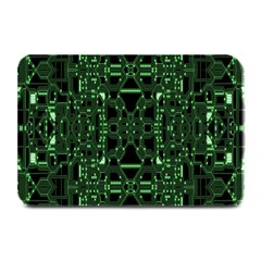 An Overly Large Geometric Representation Of A Circuit Board Plate Mats