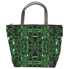 An Overly Large Geometric Representation Of A Circuit Board Bucket Bags