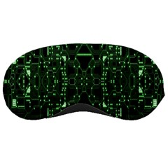 An Overly Large Geometric Representation Of A Circuit Board Sleeping Masks