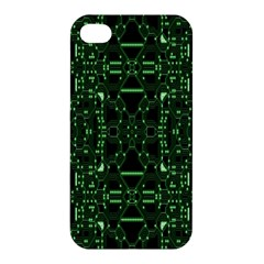 An Overly Large Geometric Representation Of A Circuit Board Apple iPhone 4/4S Hardshell Case