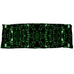An Overly Large Geometric Representation Of A Circuit Board Body Pillow Case Dakimakura (two Sides)