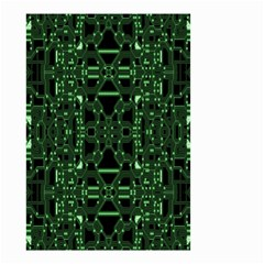 An Overly Large Geometric Representation Of A Circuit Board Small Garden Flag (Two Sides)