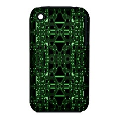 An Overly Large Geometric Representation Of A Circuit Board iPhone 3S/3GS
