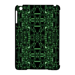An Overly Large Geometric Representation Of A Circuit Board Apple iPad Mini Hardshell Case (Compatible with Smart Cover)