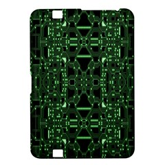 An Overly Large Geometric Representation Of A Circuit Board Kindle Fire HD 8.9
