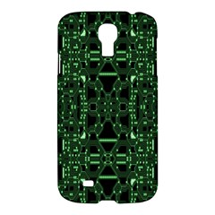 An Overly Large Geometric Representation Of A Circuit Board Samsung Galaxy S4 I9500/I9505 Hardshell Case
