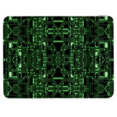 An Overly Large Geometric Representation Of A Circuit Board Samsung Galaxy Tab 7  P1000 Flip Case