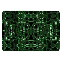 An Overly Large Geometric Representation Of A Circuit Board Samsung Galaxy Tab 8.9  P7300 Flip Case