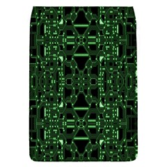 An Overly Large Geometric Representation Of A Circuit Board Flap Covers (s)
