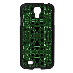 An Overly Large Geometric Representation Of A Circuit Board Samsung Galaxy S4 I9500/ I9505 Case (Black)