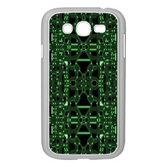 An Overly Large Geometric Representation Of A Circuit Board Samsung Galaxy Grand DUOS I9082 Case (White)