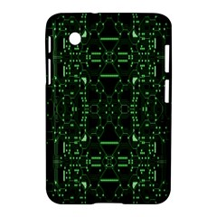 An Overly Large Geometric Representation Of A Circuit Board Samsung Galaxy Tab 2 (7 ) P3100 Hardshell Case