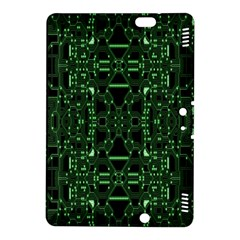 An Overly Large Geometric Representation Of A Circuit Board Kindle Fire Hdx 8 9  Hardshell Case