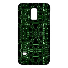 An Overly Large Geometric Representation Of A Circuit Board Galaxy S5 Mini