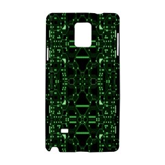 An Overly Large Geometric Representation Of A Circuit Board Samsung Galaxy Note 4 Hardshell Case